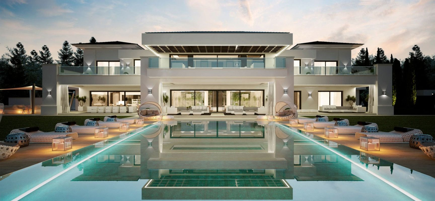 spanish luxury villas Googlesk home Pinterest Luxury villa