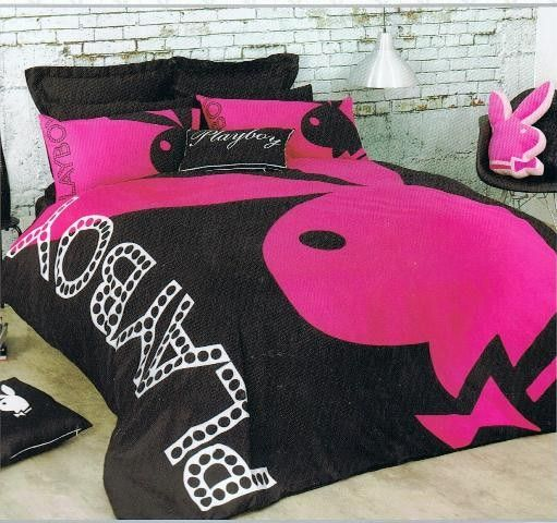 Playboy Mansion Playboy Home Collection 'Bunny' King Bed