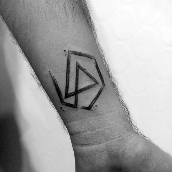 70 Linkin Park Tattoo Ideas For Men - Rock Band Designs