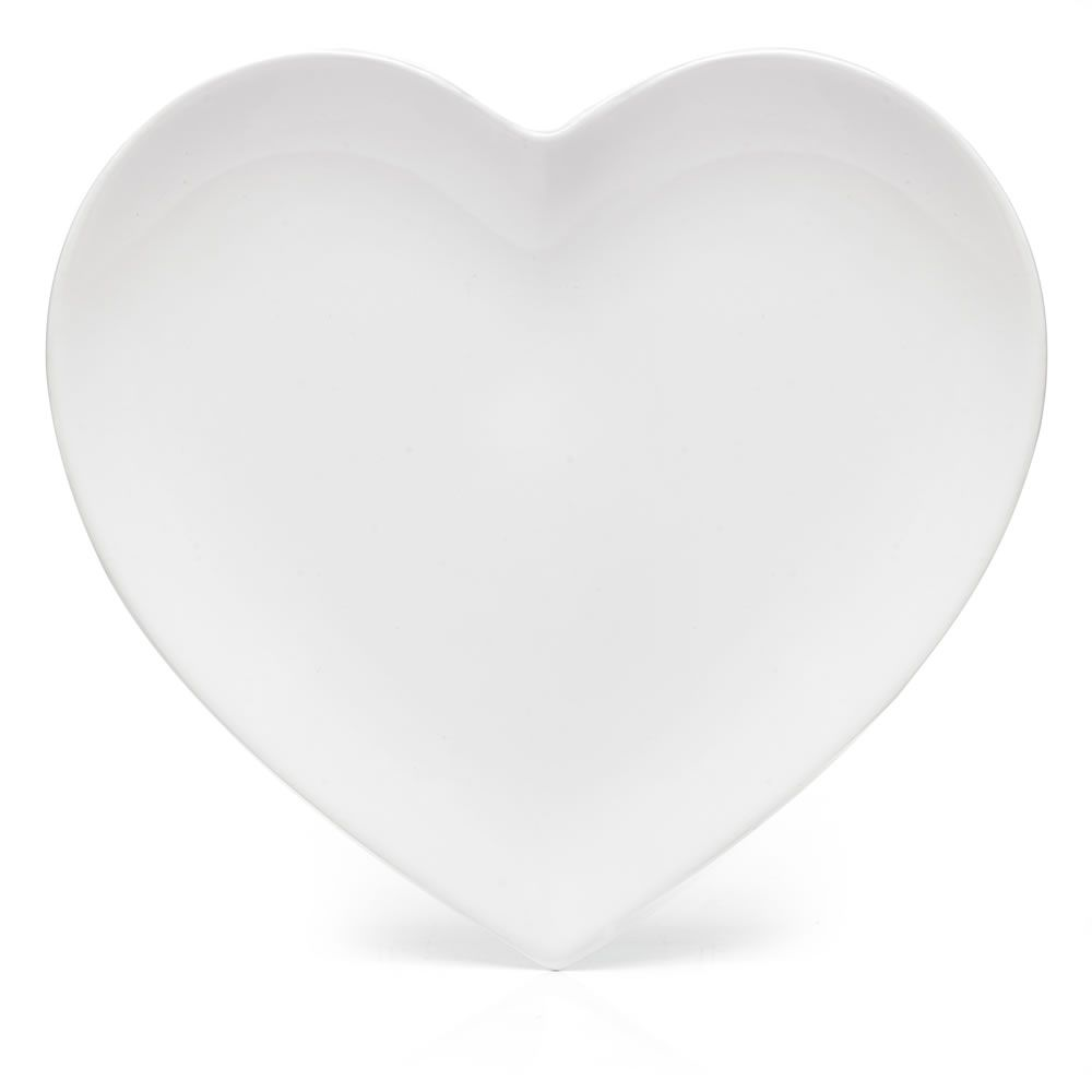 Wilko Heart Dinner Plate at wilko.com  sc 1 st  Pinterest & Wilko Heart Dinner Plate at wilko.com | Heart Shaped Dishes ...