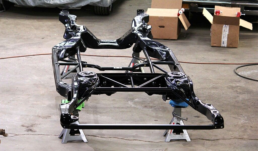 Trick chassis Gbody frame bracing   Buick grand national