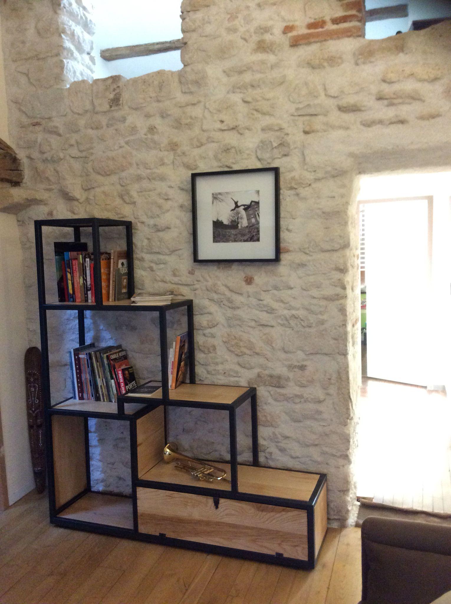 Etageres Escalier Fer Et Bois My Board Etagere Etagere Escalier