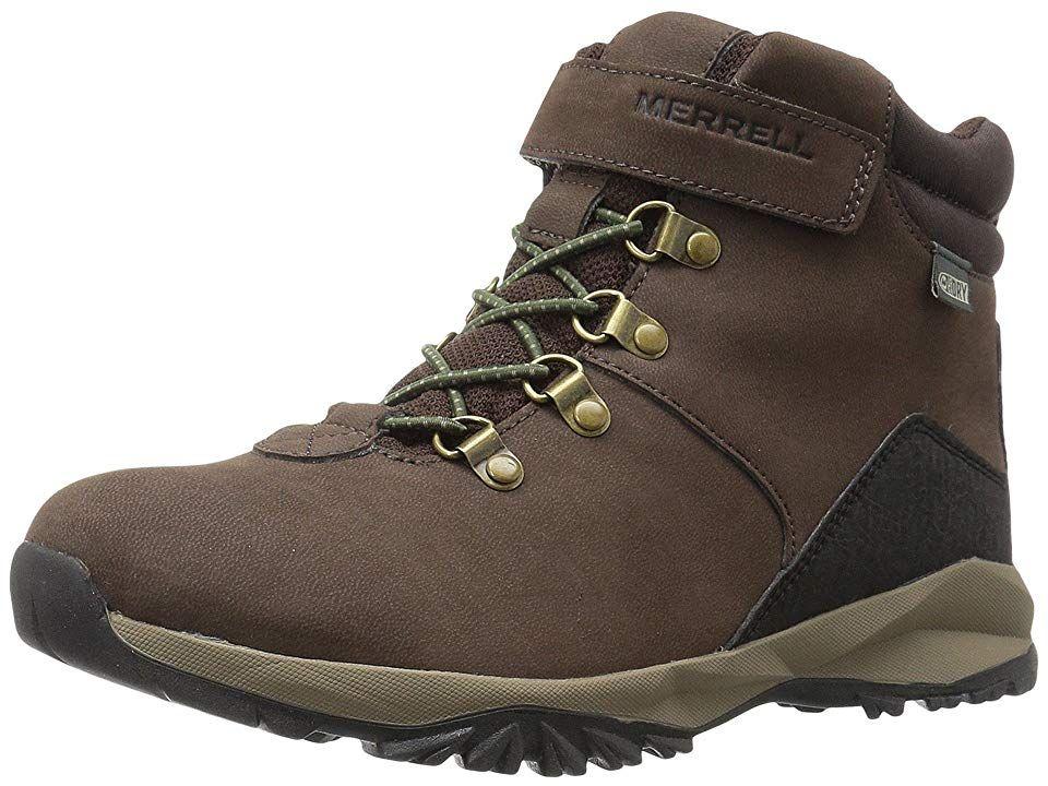 a2d36b441f Merrell Kids Alpine Casual Boot Waterproof (Big Kid) Boys Shoes ...