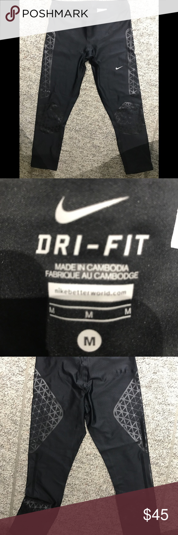 452129ad5c6c6 Perfect Condition Nike Dri-Fit Running Tights Nike Women s Printed Running  Tights deliver the ideal combination of stretch and support to help you move  ...