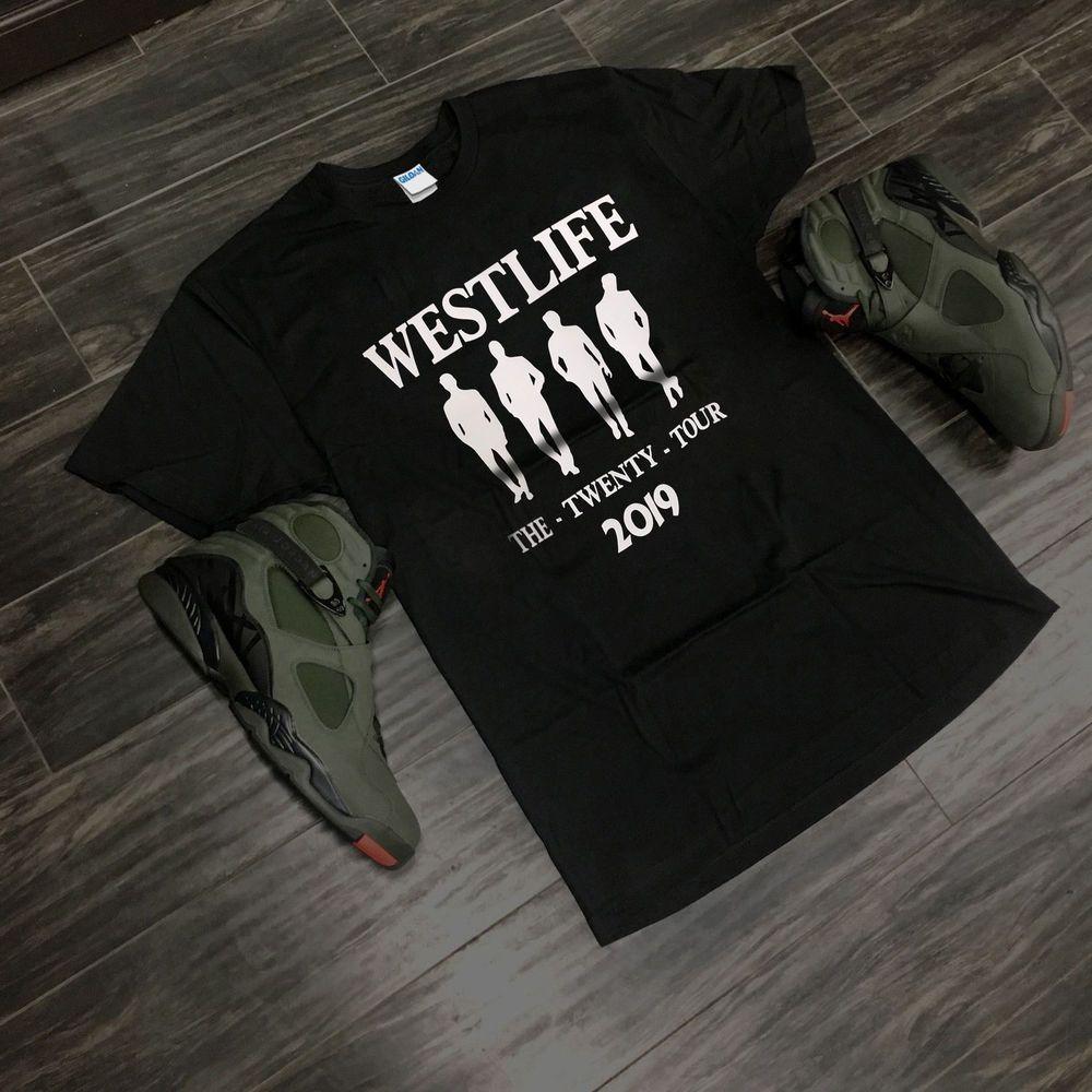 Westlife The Twenty Tour 2019 T shirt Size S to 3XL #fashion