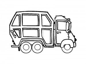 Garbage Truck Worksheets Coloring Pages 10 Truck Coloring