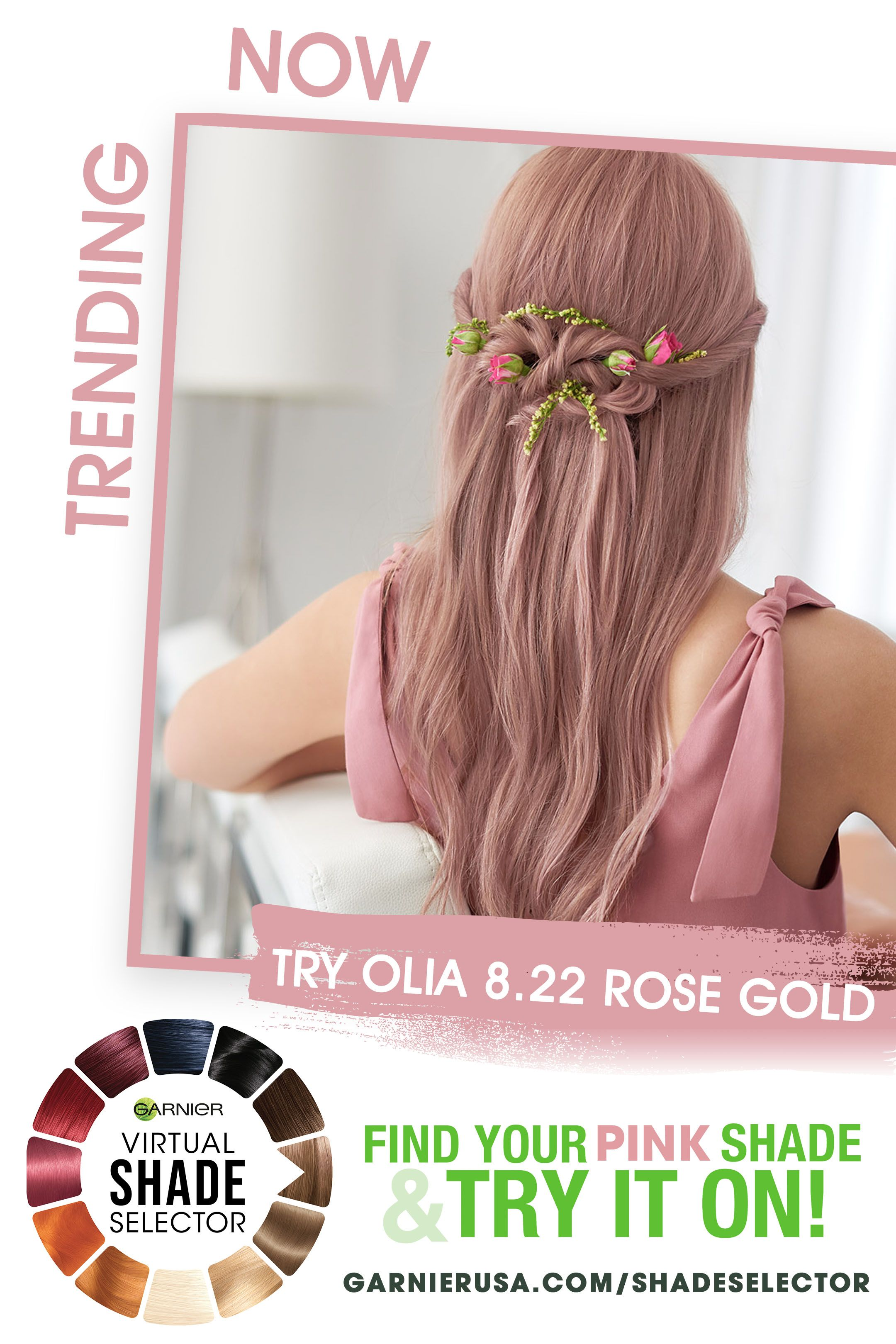 Pink Hair Hair Color Rose Gold Virtual Hair Color Rose Gold Hair