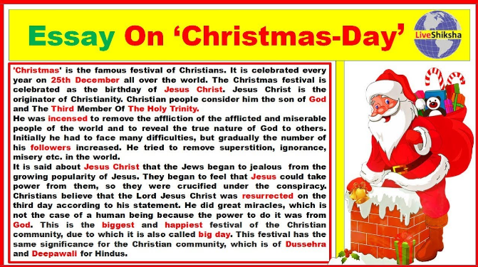 Essay On Christma History Celebration And Decoration Xmax Chrismast New Year Wishe Quotes Holiday