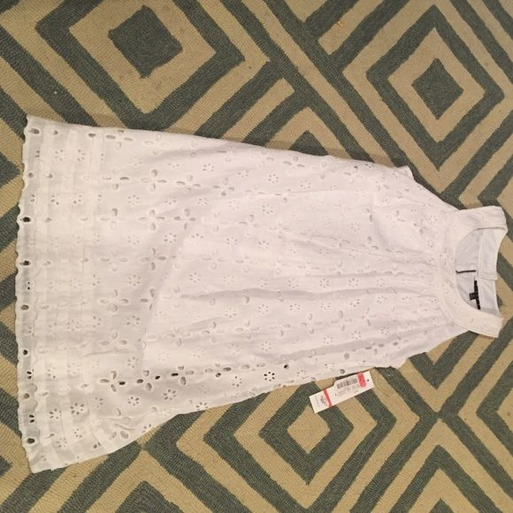 36d087d6359 Dillard s tiana b dress eyelet dress BRAND NEW Tiana b Dillard s brand  white eyelet dress. Size 8. Brand new! Super cute for summer! Dillards  Dresses