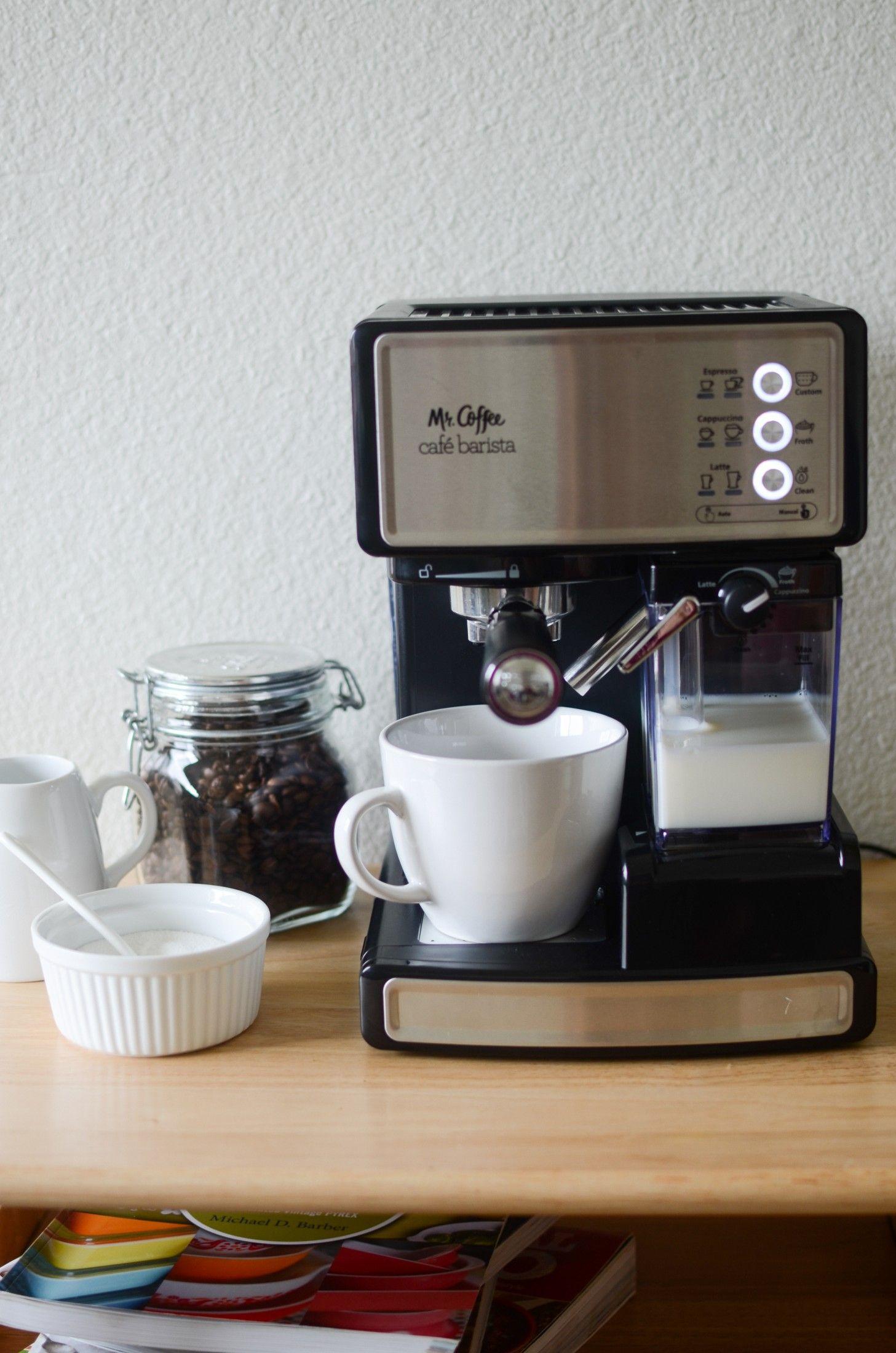 Café Barista Pump Espresso Maker at Cafe