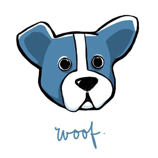 Woof!  #illustration #dog #doggie #puppy #illustrated #digitalillustration #note4 #autodesksketchbook #autodesk
