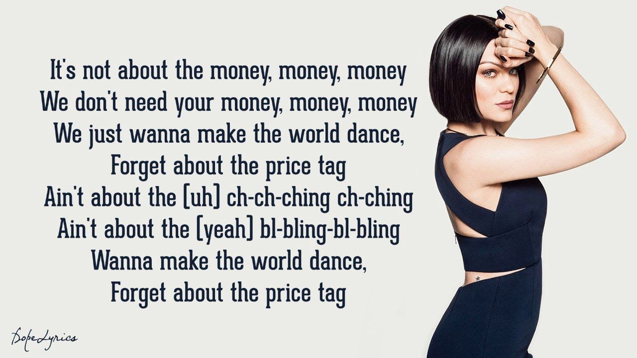Jessie J Price Tag (Lyrics) feat. B.o.B YouTube in