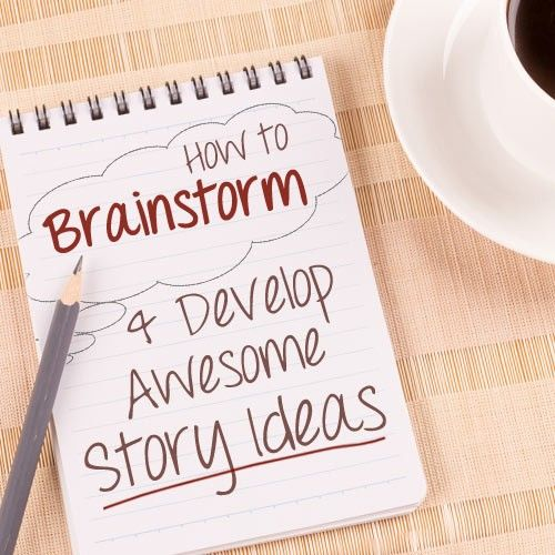 How to Find, Brainstorm \ Develop Story Ideas Into a Book Or Novel - book writing