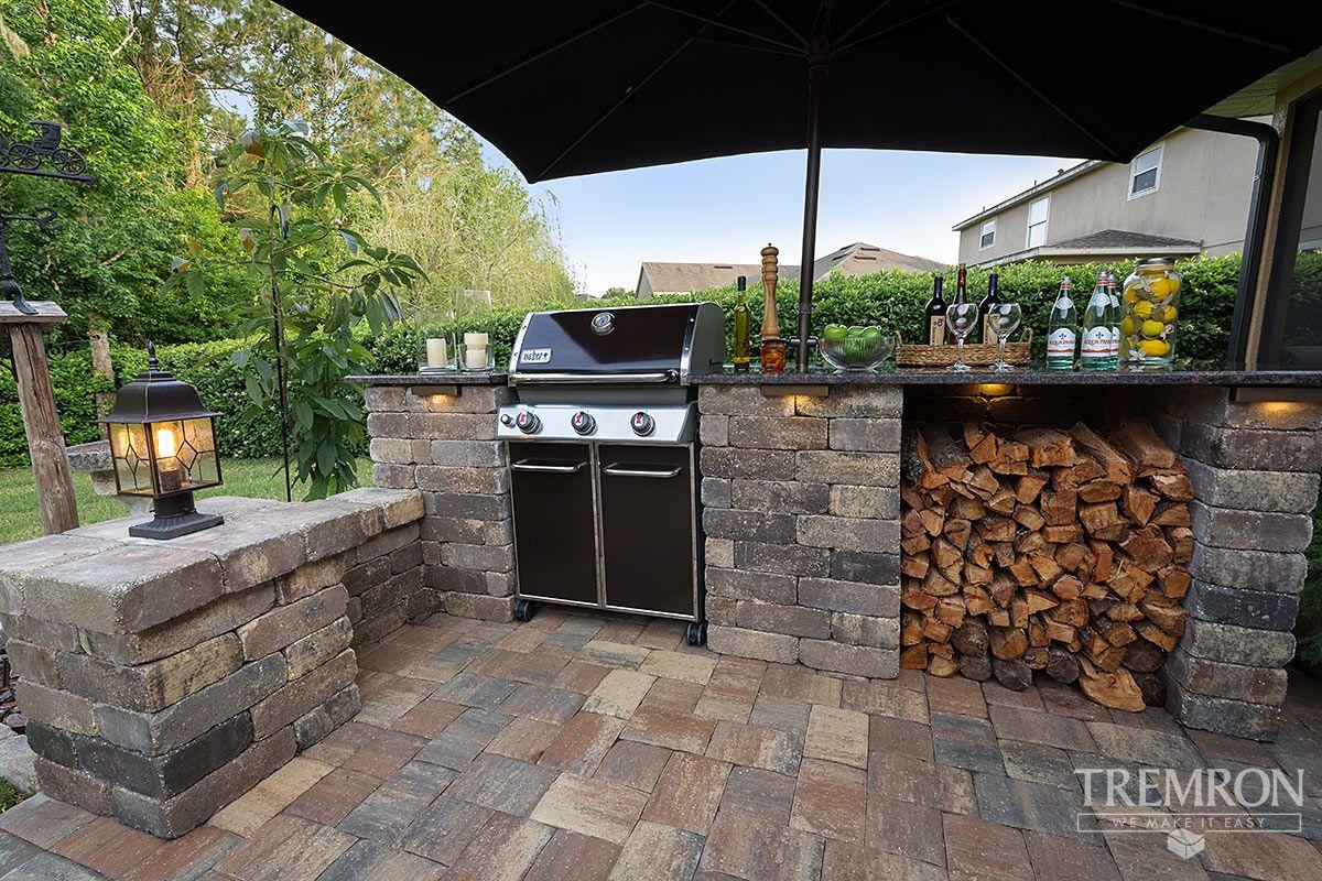 Inspiration Tremron Jacksonville Pavers Retaining Walls Fire Pits Atlanta Miami Orlando Tampa Fl Backyard Design Outdoor Kitchen Design Hardscape Design
