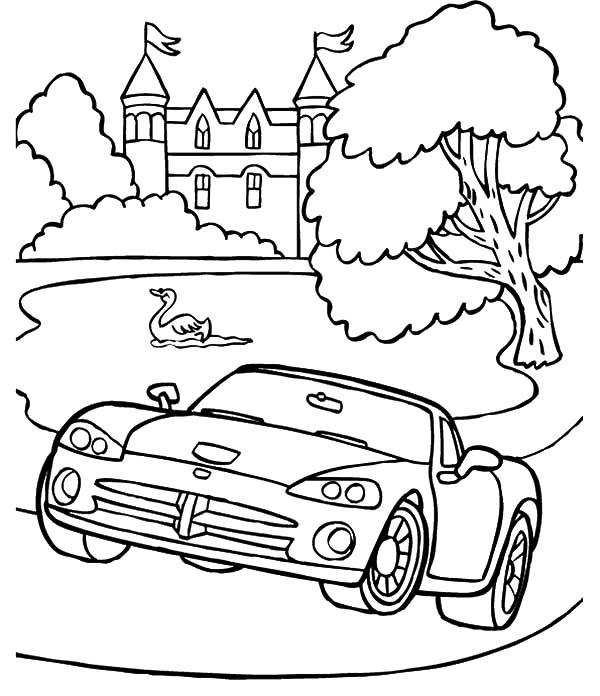 Dodge Viper Drag Car Coloring Pages Coloring Sky Cars Coloring Pages Dodge Viper Drag Cars