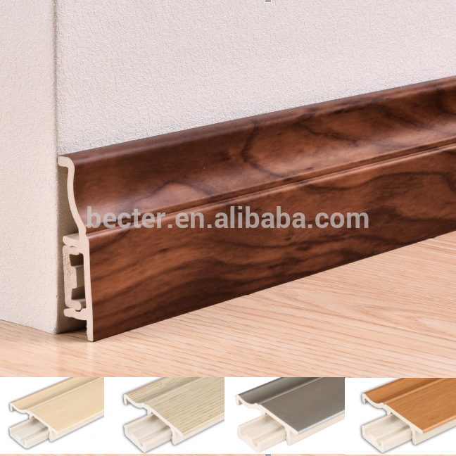 China Factory Shopping Online Floor Vinyl Skirting Board Vinyl Skirting Skirting Boards Flooring