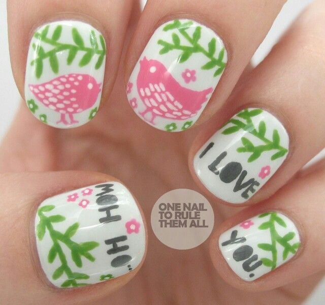 Oh How I Love You Nails 3 Pinterest