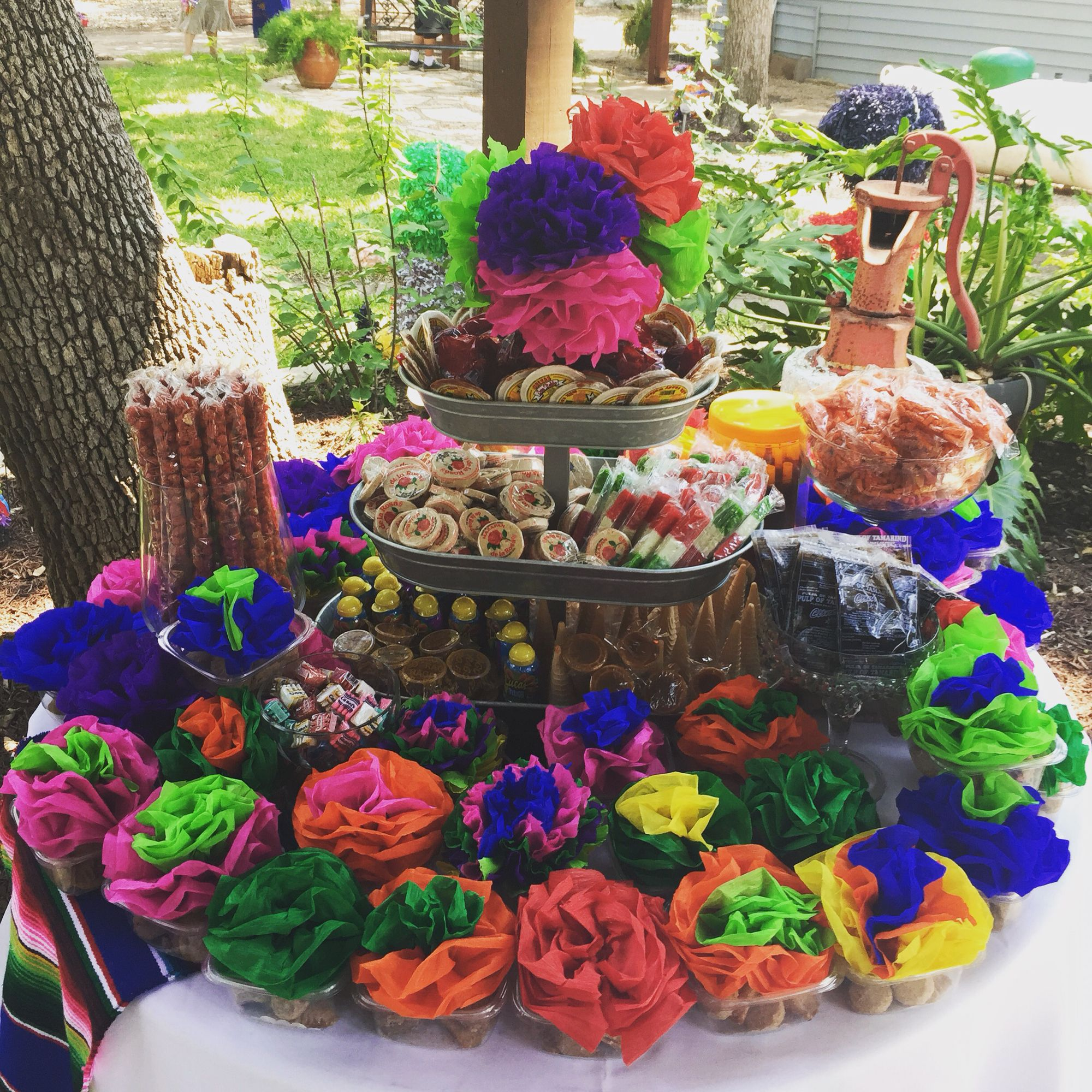 Mexican Candy Table Fiesta Mexican Party Theme Mexican Candy Table Mexican Party Decorations