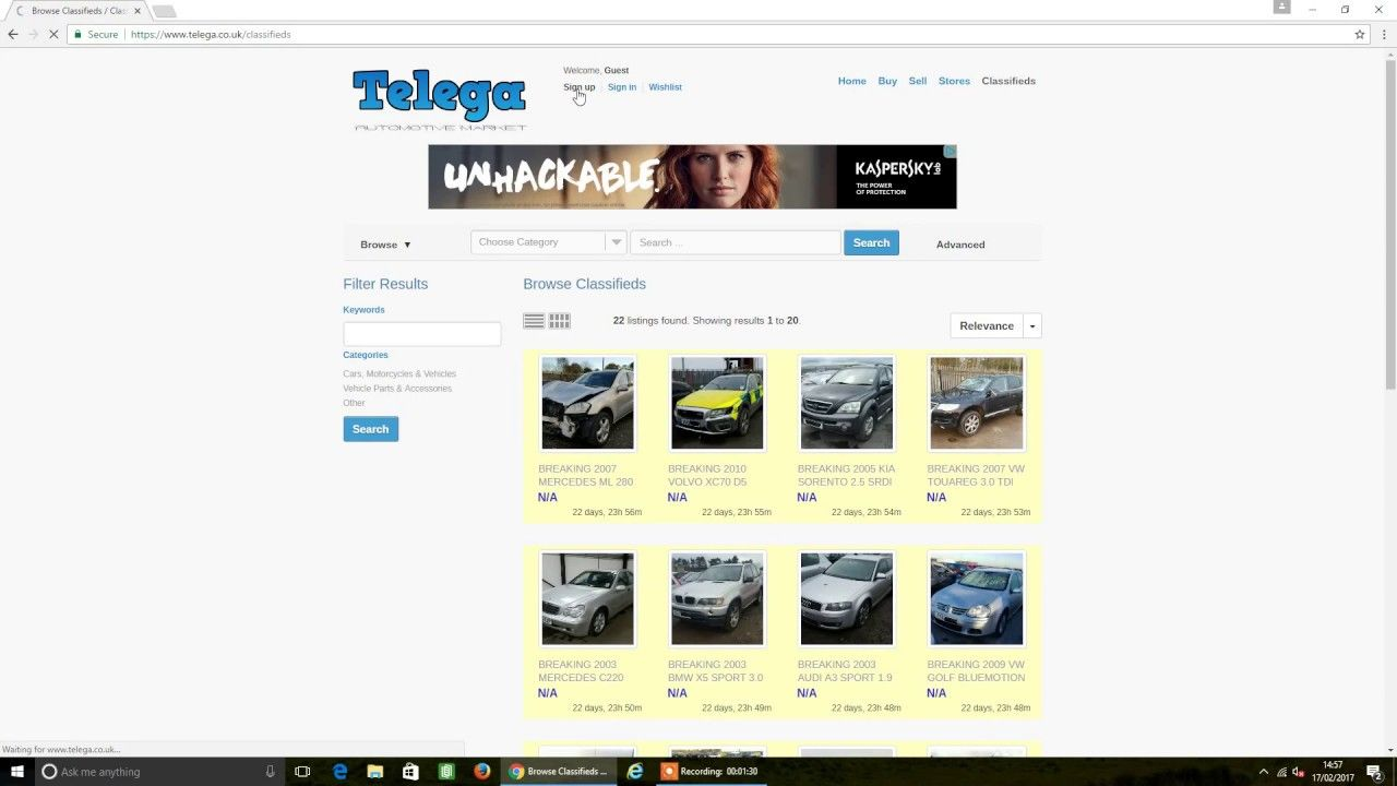 Telega - Free UK Auto Market. Sell Parts and Cars For Free | Free ...