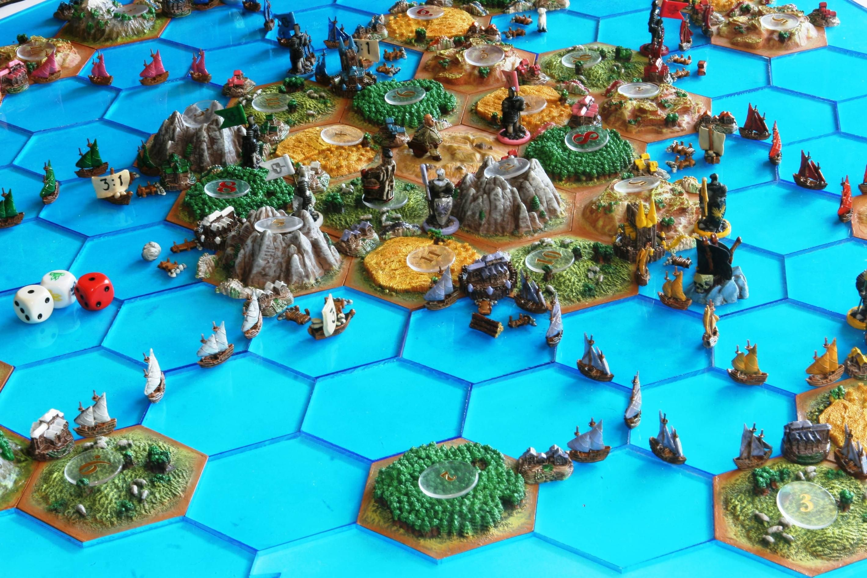 Setters of Catan Expansion Settlers of catan, Rpg board