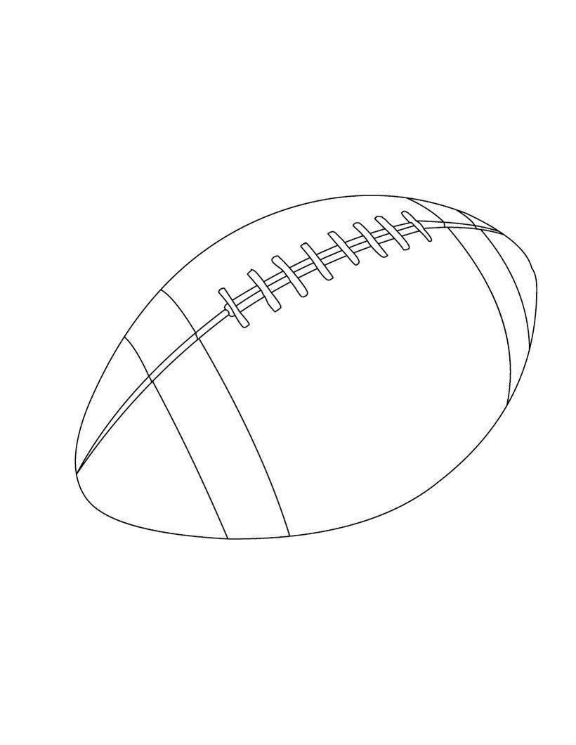 Rugby Balls Good Coloring Picture For Kids Craft Coloring Pictures For Kids Rugby Balls Coloring Pages For Kids