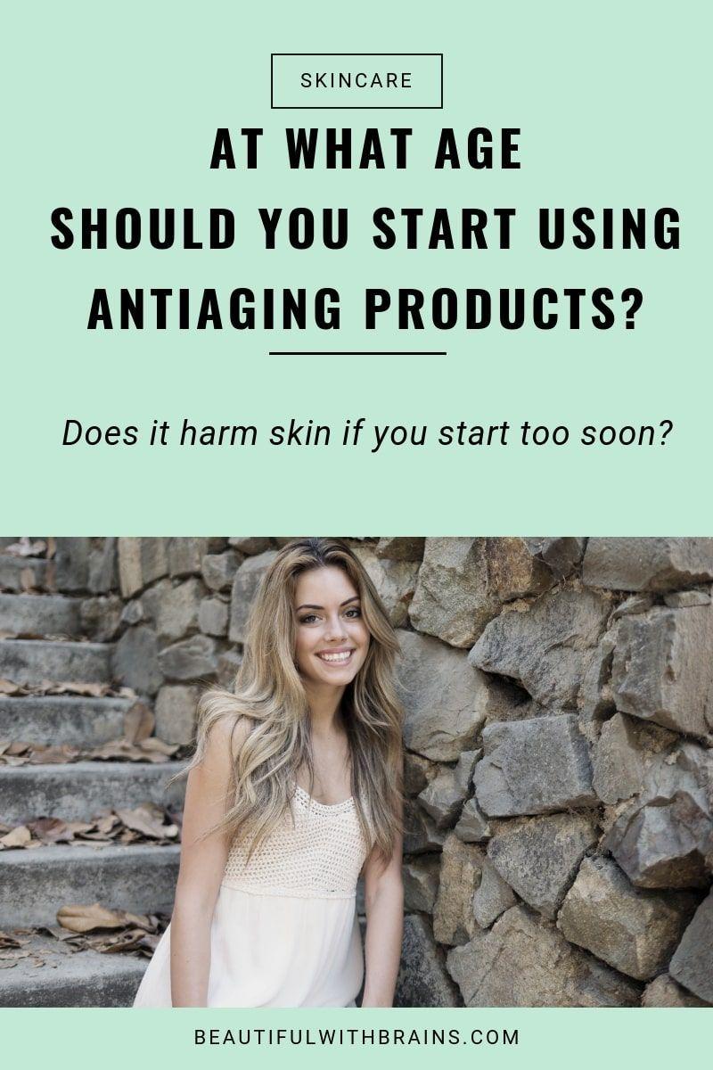 When Should You Start Using Anti Aging Products In 2020 Anti Aging Skin Care Anti Aging Wrinkles Anti Aging Skin Care Diy