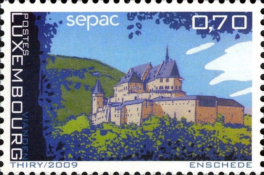 Sello: Sepac (Luxemburgo) (SEPAC) Mi:LU 1844,Yt:LU 1786,WAD:LU021.09