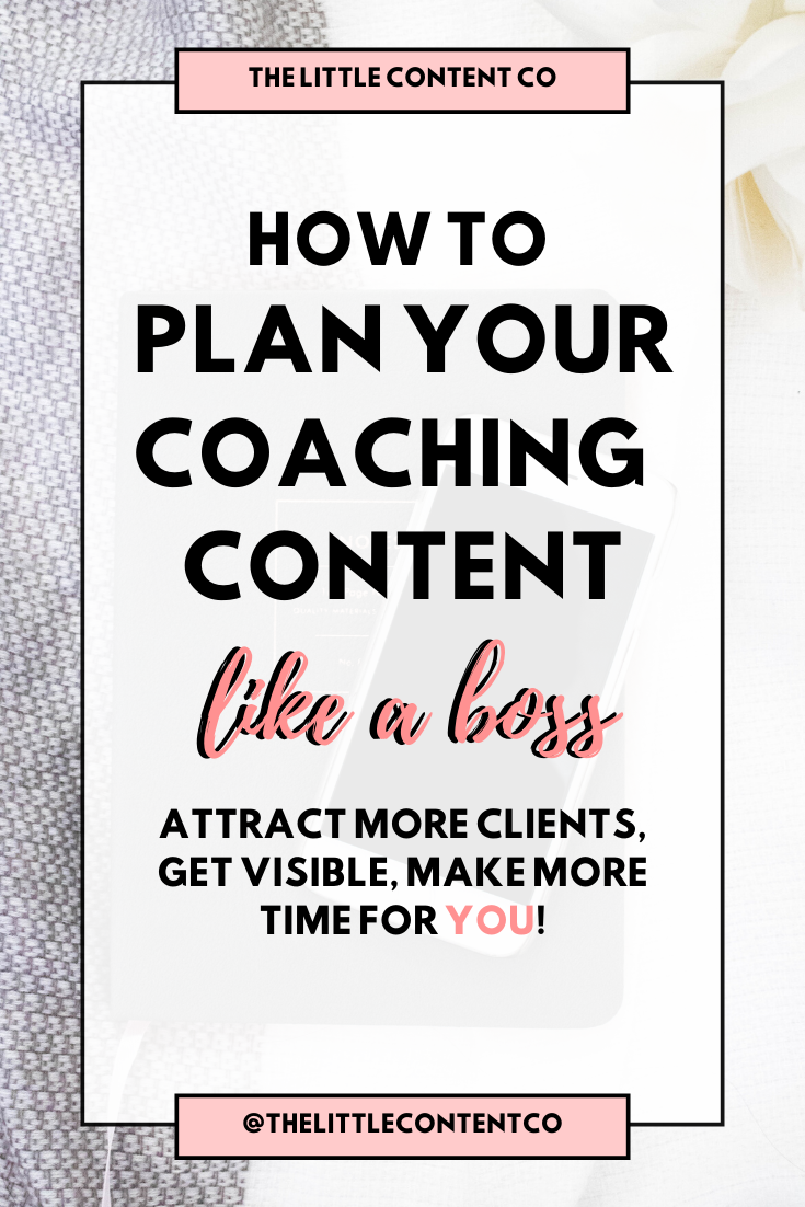 Coaching Content Calendar: The Exact Template I Use - The Little Content Co