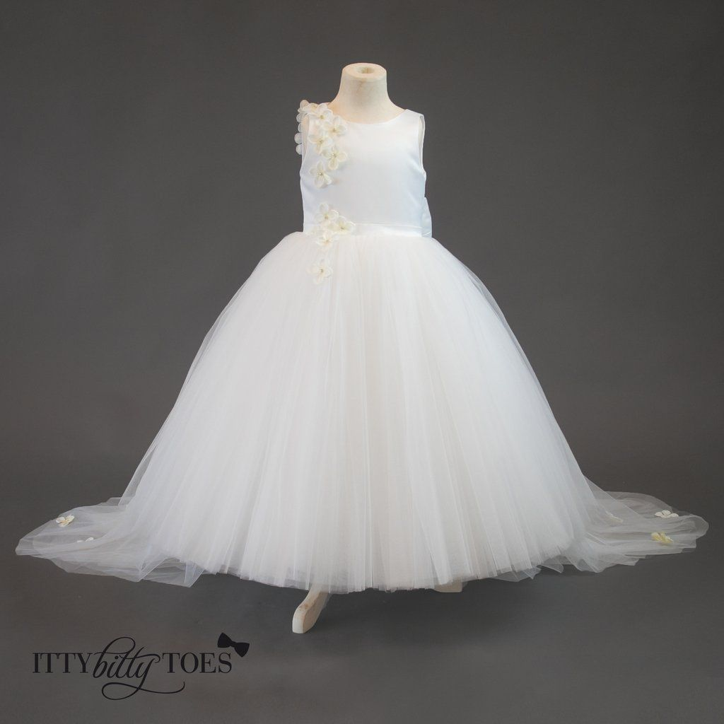 Lili dress white tulle skirts princess and girls