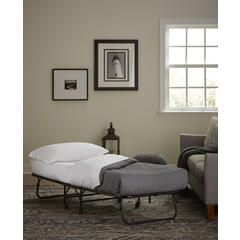 """Folding Metal Guest Bed with 30"""" Mattress - Sears"""