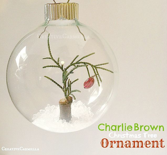 How to Make a Charlie Brown Ornament | Creative Christmas ...