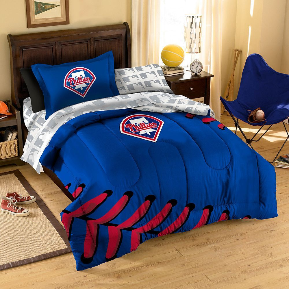 Philadelphia Phillies MLB Bed in a Bag (Twin) Bed in a