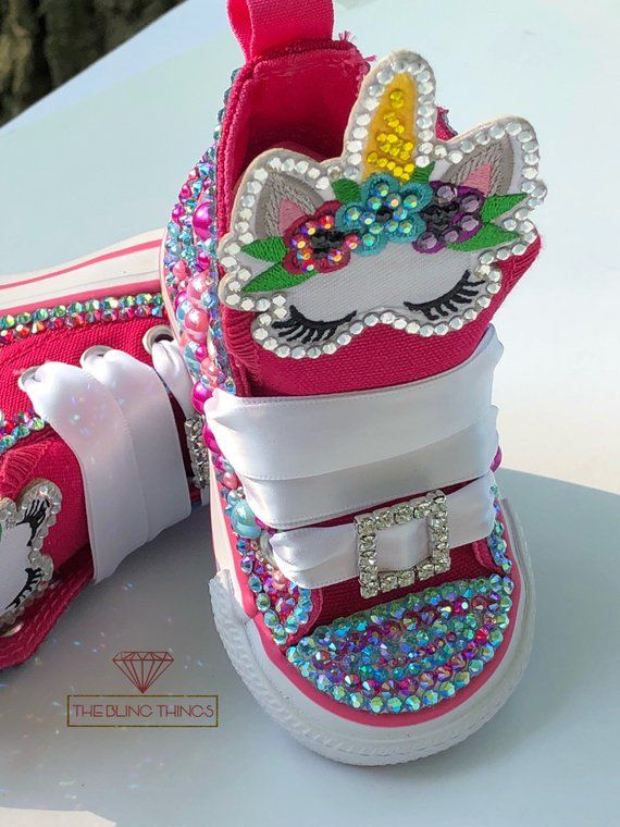 360a7055937f Unicorn Bling Converse