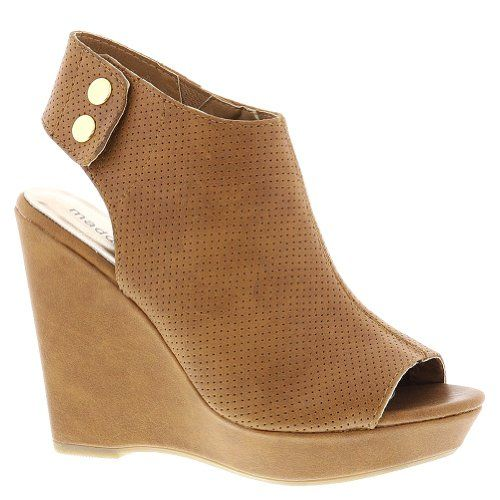 Madden Girl Women's Kain Wedge Sandal,Tan,9 M US - http://clutches-handbags-shoes.com/2014/02/madden-girl-womens-kain-wedge-sandaltan9-m-us/