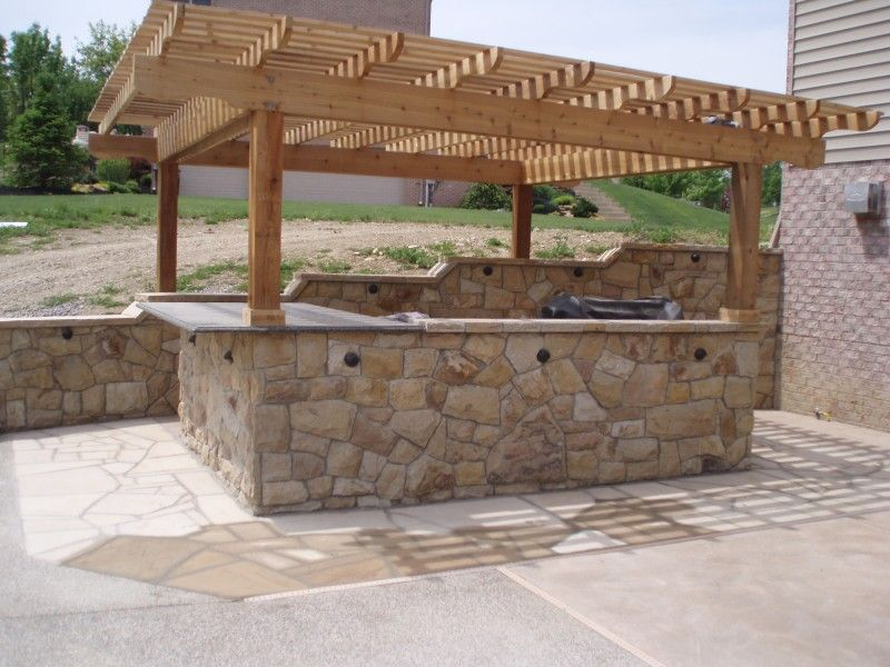 Brilliant Stone Patio Bar Outdoor Patio O Inside Inspiration Stone Patio Bar