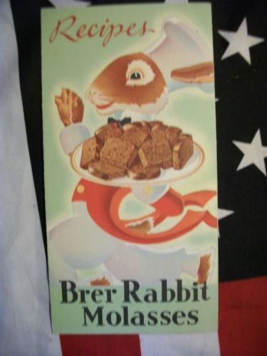 Vintage-Brer-Rabbit-Molasses-Recipe-Pamphlet-Booklet-Gingerbread-Cookies-Taffy