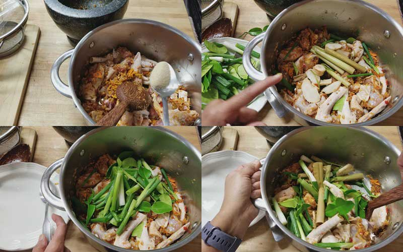 ไก ใต น ำ เมน ก บแกล มแบบอ สานแซ บน ว หอมสม นไพร โอเลยฟ ด ในป 2021 อาหาร การทำอาหาร ผ กช