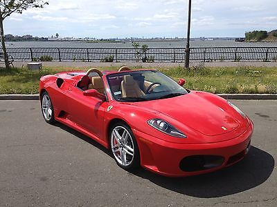 2008 Ferrari F430 Convertible Spider F1 Certified Runs And Drives