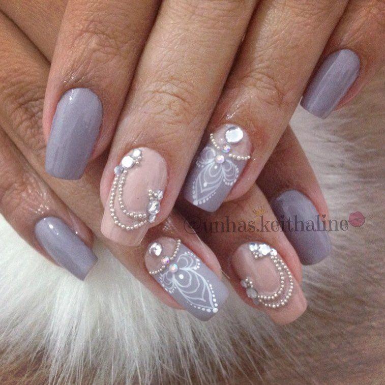 80 Modelos De Unhas Para Madrinha De Casamento Nails