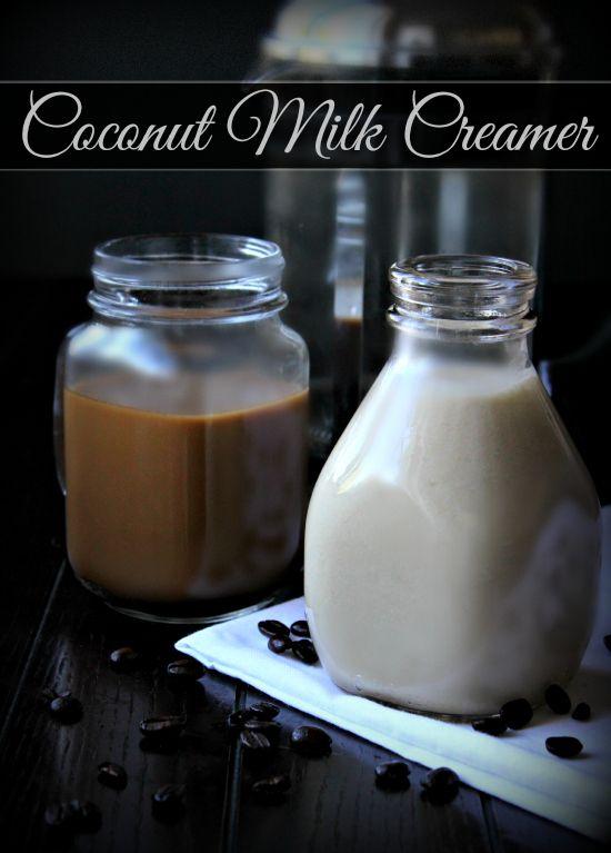 Homemade Coconut Milk Creamer - The Coconut Mama