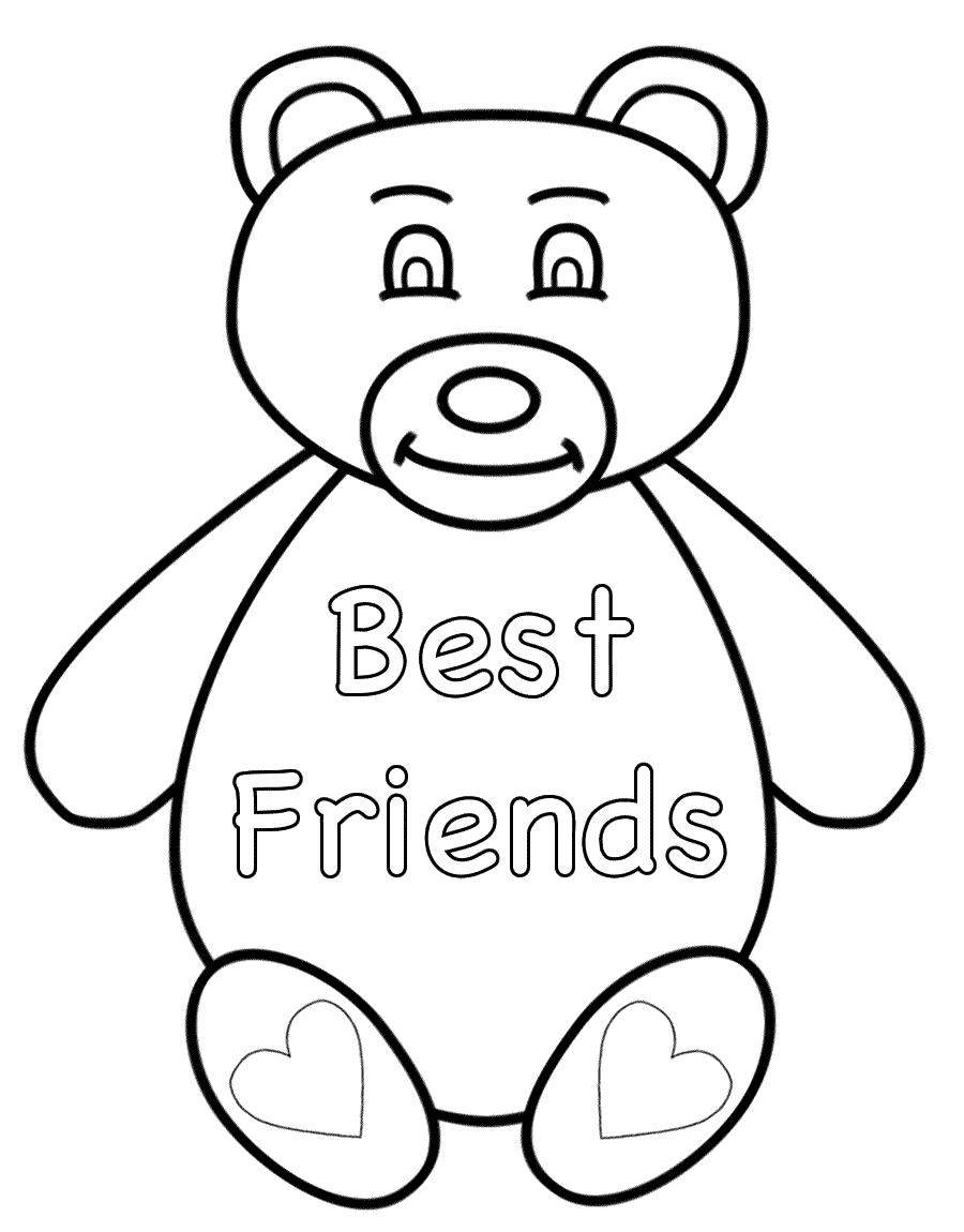 Teddy Bear Shapes Printable Bear Outline Pattern - Free Printable ...