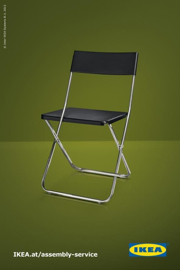 IKEA Assembly Service: Chair | Print Ads Archive | Ikea ad
