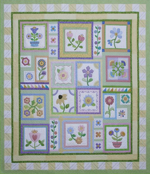 17 Best 1000 images about Stitchers Garden Quilts on Pinterest