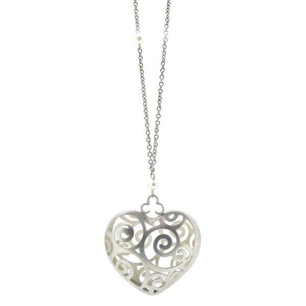 Sian Bostwick Jewellery Alices Tumble Heart Necklace - 16 eIz1C