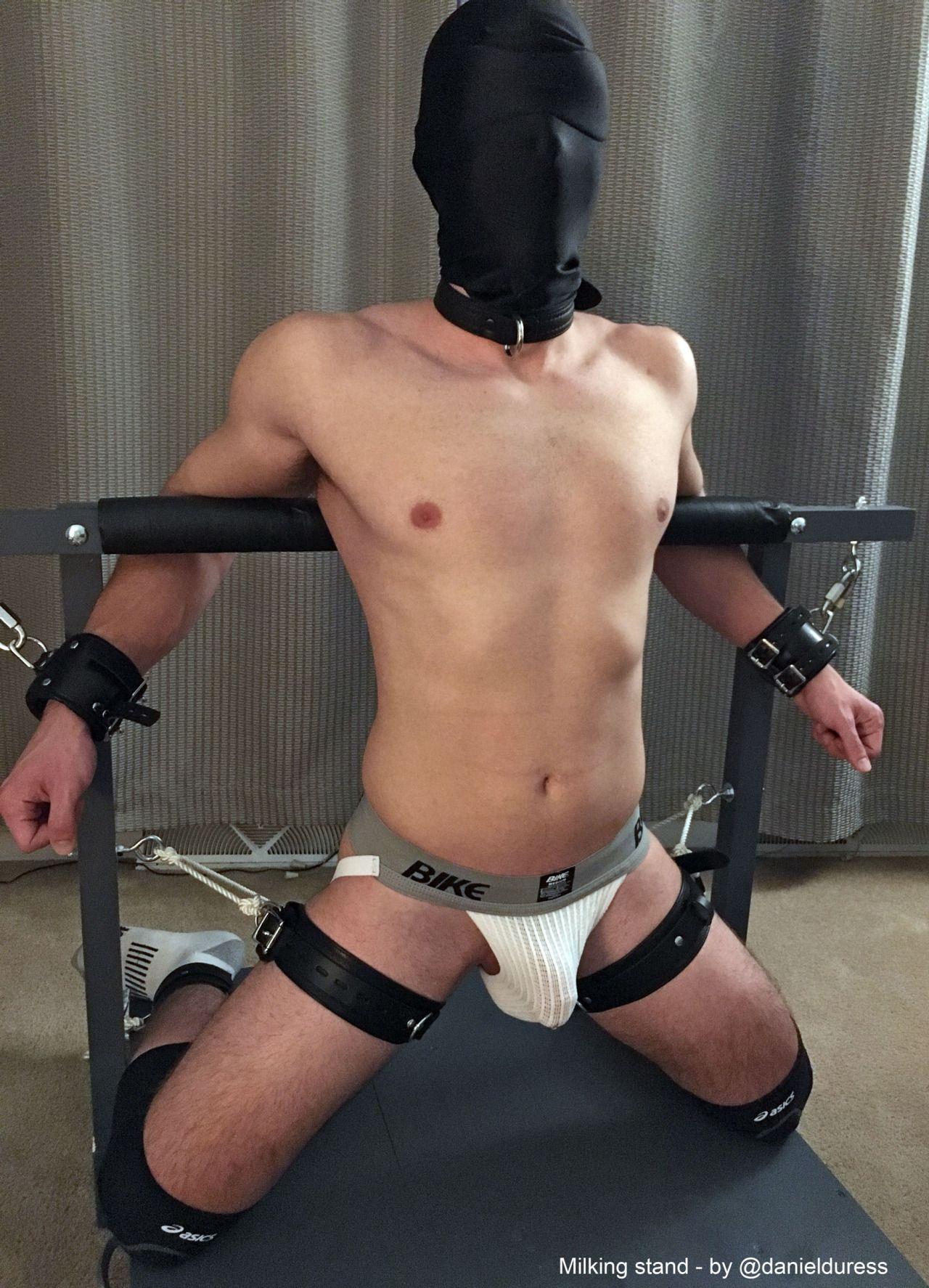 Straight guys in bondage