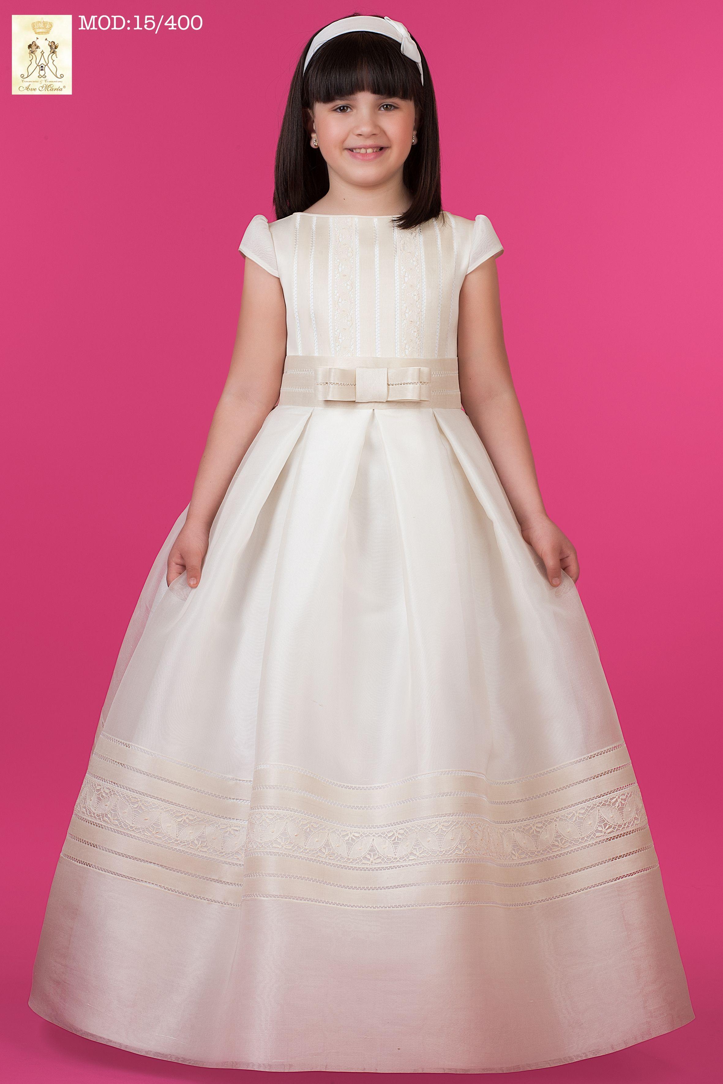 Vestido niña comunión, colección 2014. Higar Novias. | Ideas de ...