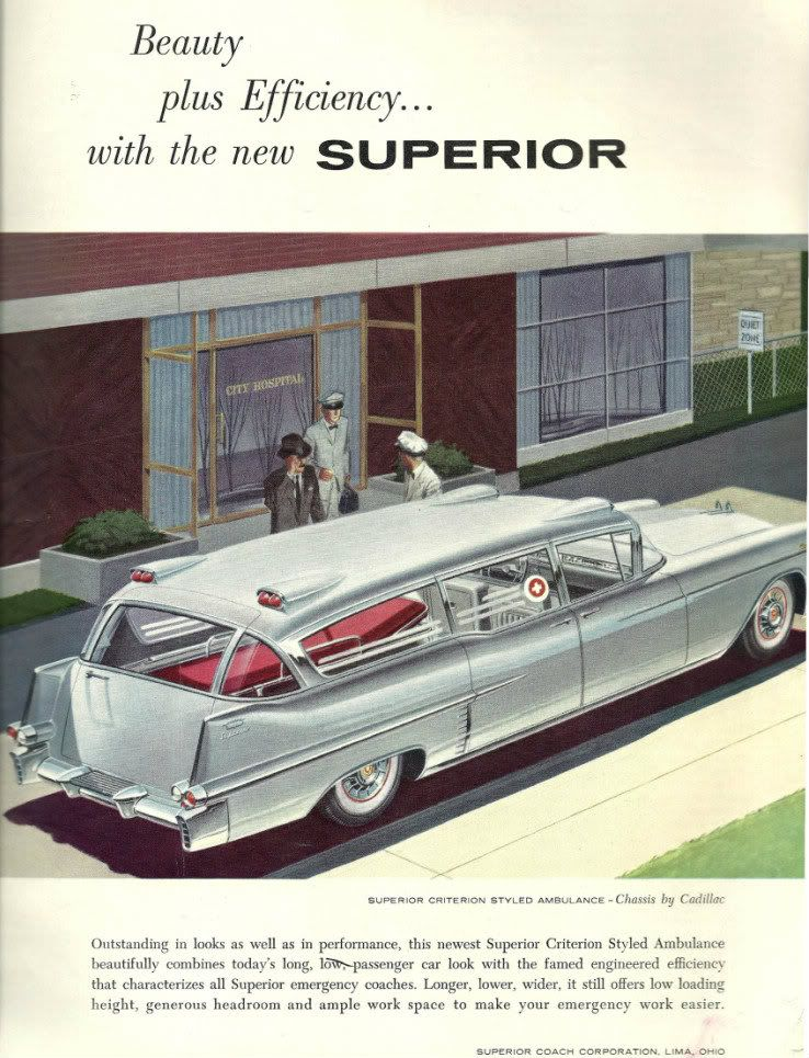 1957 cadillac ambulance by