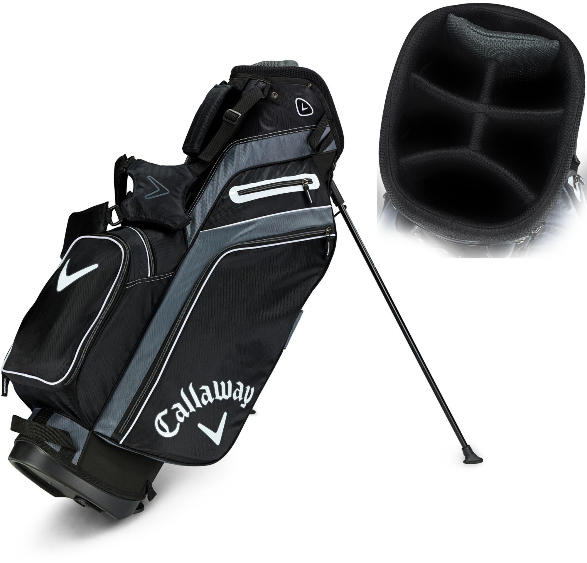17+ Callaway x hot golf stand bag information