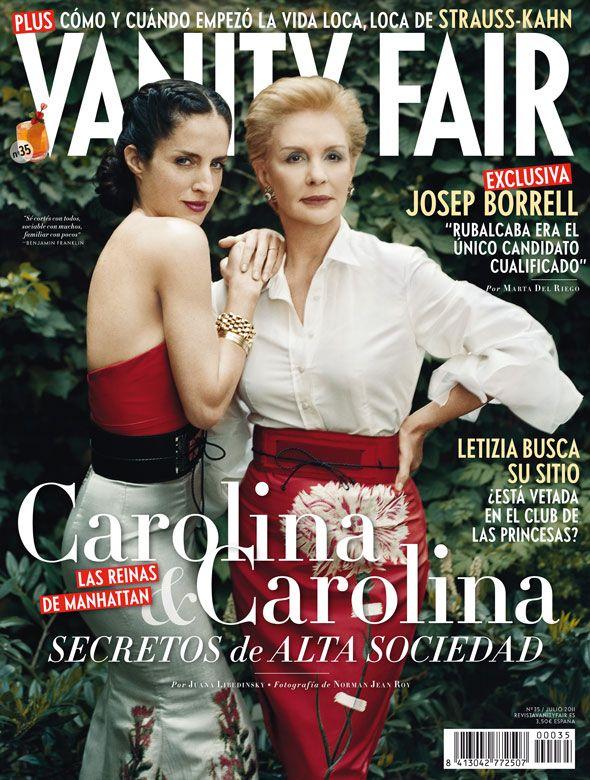 51963a1769358 Carolina Herrera y Carolina  Las reinas de Manhattan   Portadas ...