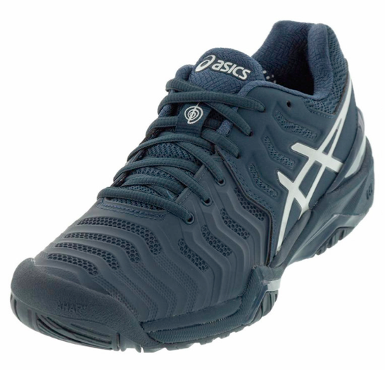 Play Like A Champion In Asics Men S Gel Resolution 7 Novak Djokovic Tennis Shoes These One Of A Kind Durability Shoes Were Design Tennis Shoes Shoes Asics Men